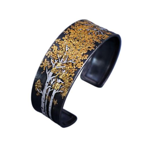 B070 Aspen Trees Collection II Cuff