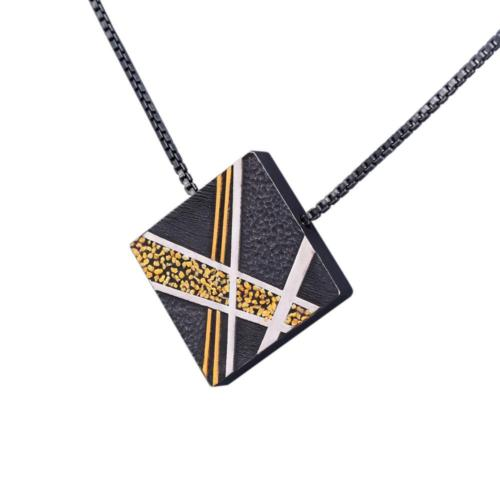 P373 Abstract Pendant